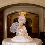 St. Louis Entertainment, Strolling Table, Strolling Tables, Marie Antoinette