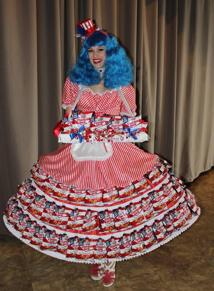 Miss Cracker Jacks, St Louis Entertainment, Cracker Jacks Skirt