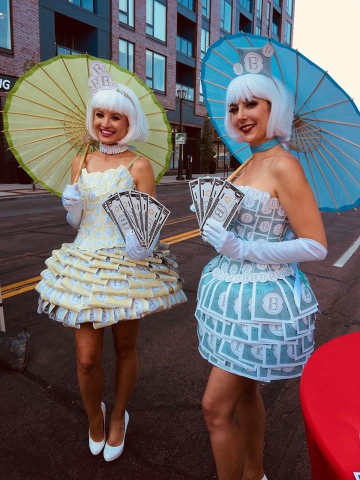Logo dresses, St. Louis Entertainment, Strolling Talent, Strolling Entertainment